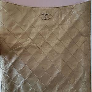Chanel iPad/document case
